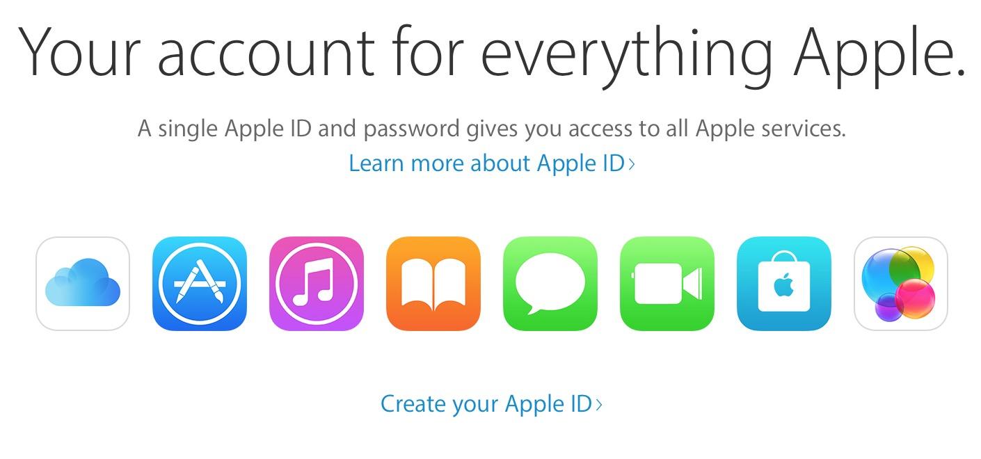 Tjänster hos Apple