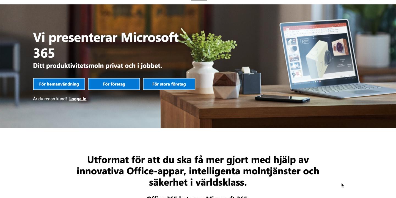Office 365 blev Microsoft 365